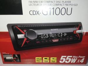 Radio cd Sony Usb nueva a estrenar CDX-GU