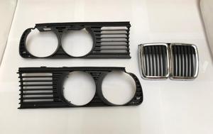 Juego de parrillas/rejillas/calandras - BMW E30