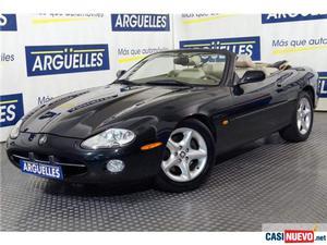 Jaguar xk convertible 4.0 v8 nacional '00 de segunda mano