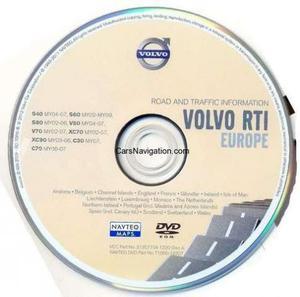 mapas  GPS Volvo c30 c70 s40 s60 s80