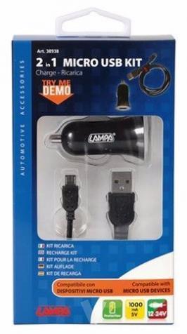 CARGADOR MICRO USB 2 EN V  mA