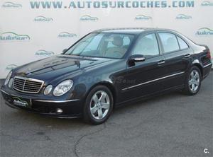 Mercedes-benz Clase E E 350 Avantgarde Auto 4p. -06