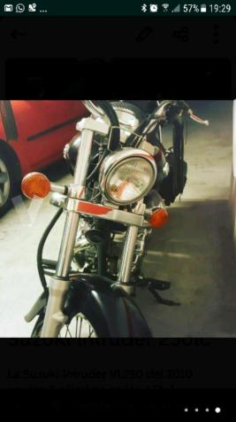 SUZUKI Intruder 250 LC (