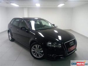 Audi a3 2.0tdi attraction s-tronic '12 de segunda mano