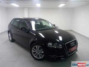 Audi a3 2.0tdi attraction s-tronic '12 de segunda mano