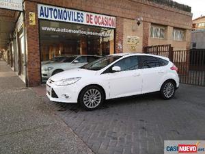 Ford focus tdci 115cv titanium '13 de segunda mano