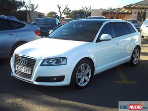 Audi a3 sportback 2.0 tdi 140 cv. de segunda mano