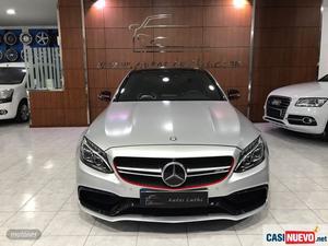 Mercedes clase c 63 amg s 7g plus de  con  km por