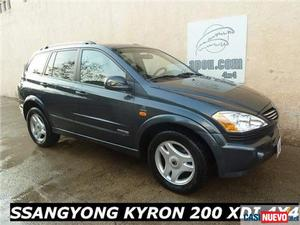 Ssangyong kyron 200xdi limited '06