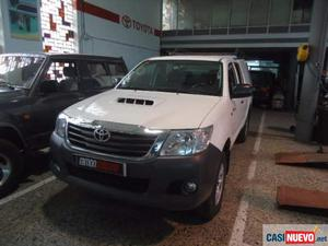 Toyota hilux 2.5d-4d cabina doble gx 4x4. iva deducible. '14