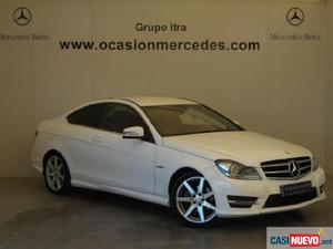 Mercedes clase c coupe 220 cdi coupe '15