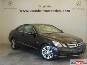 Mercedes clase c e coupe coupe e