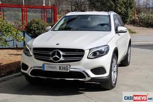 Mercedes glc 250 d 4matic aut. 9g navegacion, piel, luz
