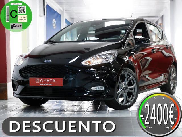 Ford Fiesta 1.0 Ecoboost S/s 100cv St Line Garantia 24 Meses