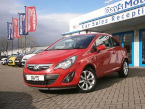 Vauxhall Corsa 1.2 Excite 3dr [AC] (CA64DTX)