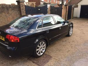 Audi A4 tdi sline 56 plate