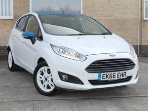 Ford Fiesta 5Dr Hatch 1.0 EcoBoost Zetec White Edition 100PS