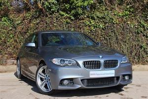 BMW 5 Series 2.0TD 520d M Sport Auto