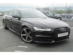 Audi A6 2.0 TDI (190PS) Ultra Black Edition
