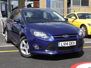 Ford Focus 5Dr Hatch 1.6 Tdci Zetec Navigator 115PS