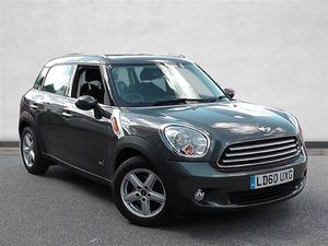 Mini Countryman 1.6 Cooper D ALL4 5dr [Pepper Pack]