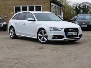 Audi A4 Avant Tdi S Line