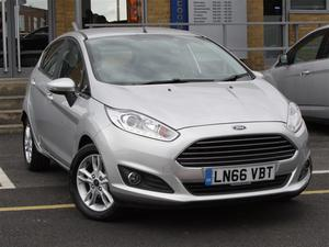Ford Fiesta 5Dr Hatch 1.0 EcoBoost Zetec 100PS