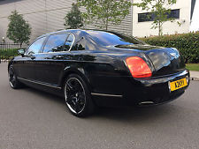 BENTLEY CONTINENTAL FLYING SPUR W12 BLACK**SUPER SPORTS