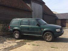 Ford Explorer petrol/LPG - for spares or repair