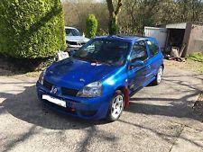 Renault Clio 172 Cup Rally Race Track MSA