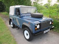 Land Rover Defender 90 SWB 4c Pick Up 2.5 petrol. ONE OWNER
