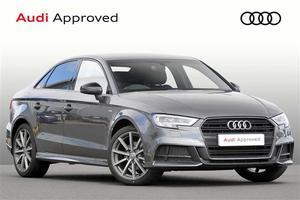 Audi A3 1.5 TFSI (150ps) Black Edition (CoD) (s/s)