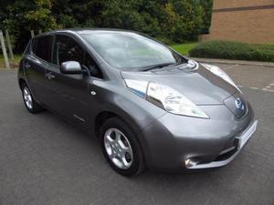 Nissan Leaf Acenta 5dr Auto 24kwh &&Free 2 Years Warranty on
