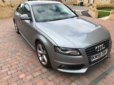 Audi A4 S Line 2.0L tdi (58 plate) Sat Nav, phone / audio