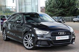Audi A3 1.5 TFSI Black Edition 4dr S Tronic Auto