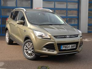 Ford Kuga 5Dr Hatch 2.0 Tdci Titanium 2WD 140PS