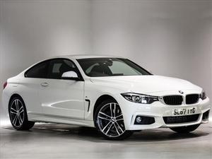 BMW 4 Series 420d [190] xDrive M Sport 2dr Auto [Prof Media]