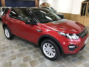 Land Rover Discovery Sport TD4 SE TECH Auto