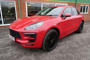 Porsche Macan 3.0 V6 GTS PDK AWD 5dr in Carmine Red