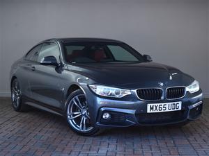 BMW 4 Series 420d [190] M Sport 2dr Auto [Professional