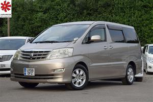 Toyota Alphard 3.0 V6 Limited Edition Automatic 4WD 4x4 8