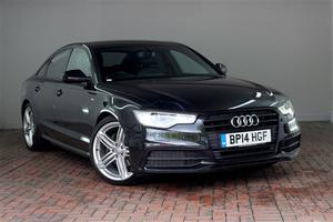 Audi A6 2.0 TDI Ultra Black Edition [20 Alloys, Sat Nav] 4dr