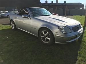 Mercedes-Benz SLK SLK 230K 2dr Tip Auto