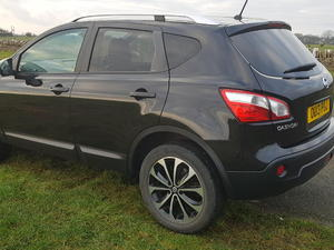Nissan Qashqai  n-tec dci diesel 5 door manual low