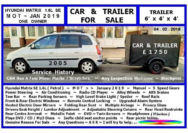 Trailer ~ For Sale