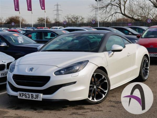 Peugeot Rcz Coupe  HDi GT 2dr Nav Vision P Coupe