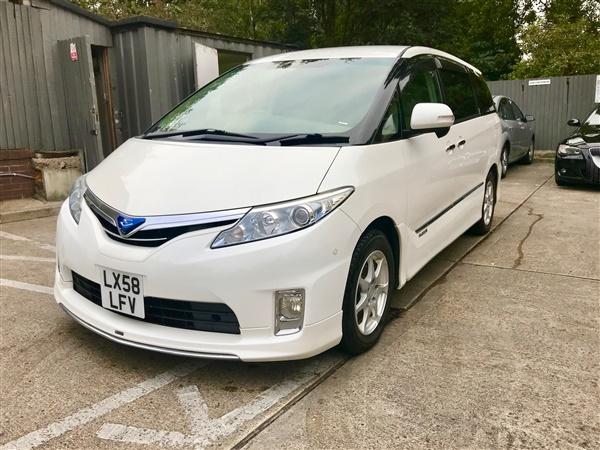 Toyota Estima 7 seater Hybrid automatic low  mileage
